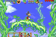 Pantallazo de Disney's Magical Quest Starring Mickey and Minnie (Japonés) para Game Boy Advance