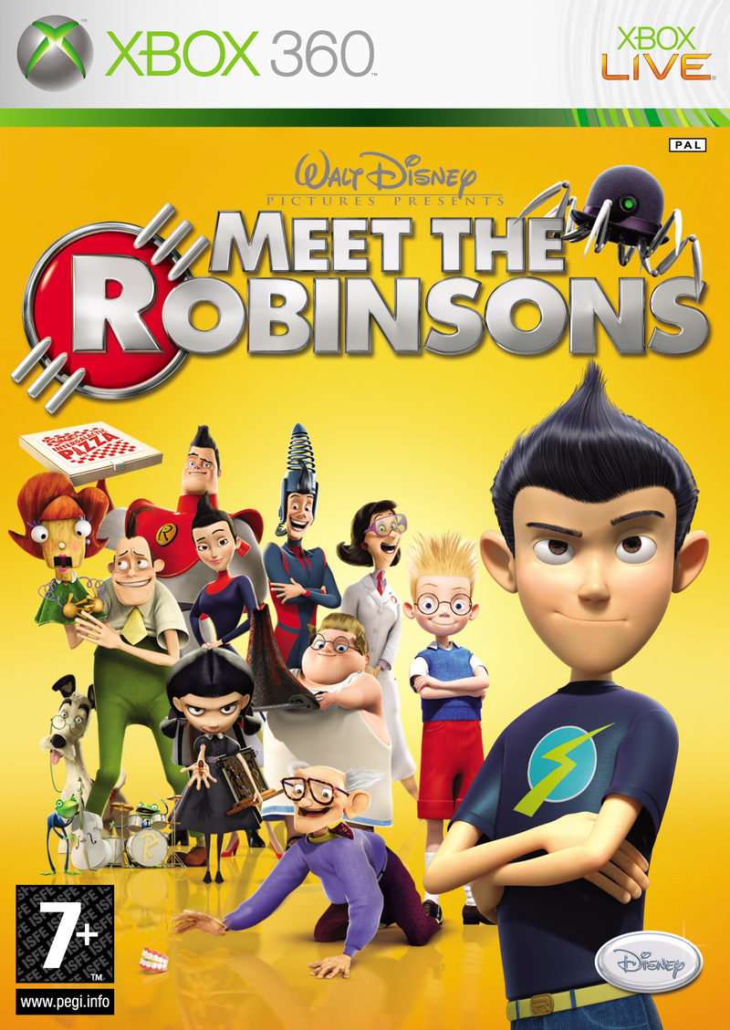 Caratula de Disney's Meet the Robinsons para Xbox 360