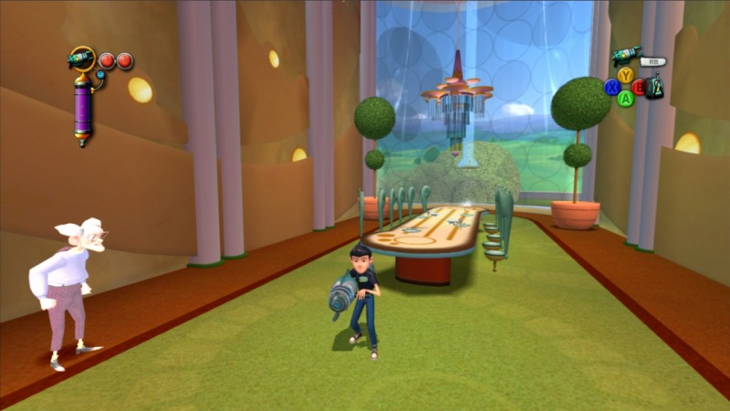 Pantallazo de Disney's Meet the Robinsons para Xbox 360