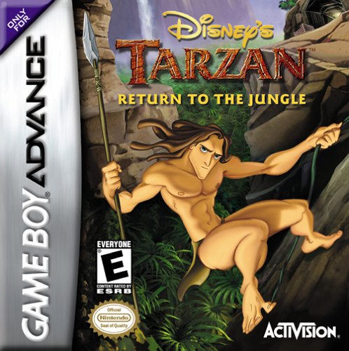 Caratula de Disney's Tarzan: Return to the Jungle para Game Boy Advance