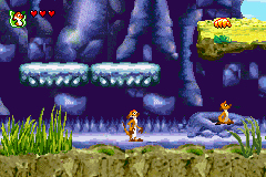 Pantallazo de Disney's The Lion King 1 1/2 para Game Boy Advance