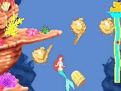 Pantallazo de Disney's The Little Mermaid: Magic In Two Kingdoms para Game Boy Advance