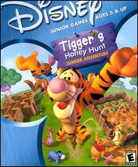 Caratula de Disney's Tigger's Honey Hunt Junior Adventure para PC
