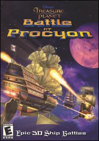 Caratula de Disney's Treasure Planet: Battle at Procyon para PC