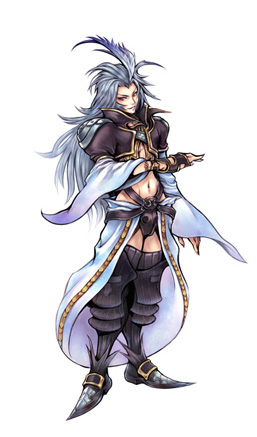 Gameart de Dissidia: Final Fantasy para PSP