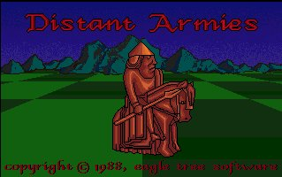 Pantallazo de Distant Armies: A Playing History Of Chess para Amiga