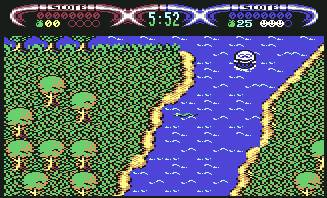 Pantallazo de Dizzy: Down the Rapids para Commodore 64
