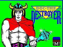 Pantallazo de Doc the Destroyer para Spectrum