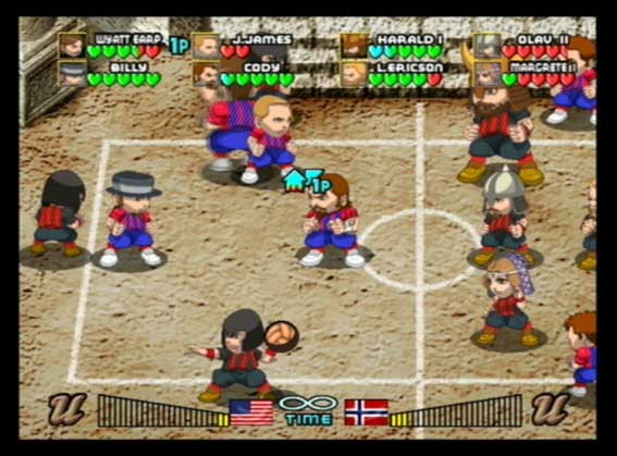 Pantallazo de DodgeBall para PlayStation 2