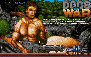 Pantallazo de Dogs of War para Atari ST