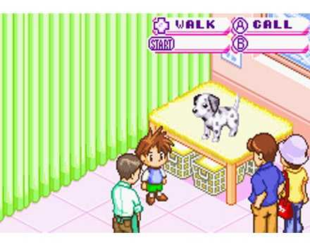 Pantallazo de Dogz para Game Boy Advance
