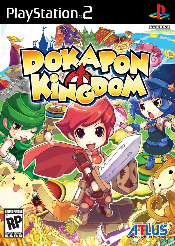Caratula de Dokapon Kingdom para PlayStation 2