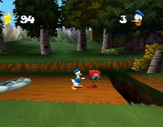 Pantallazo de Donald Duck Quack Attack para PlayStation