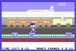 Pantallazo de Donald Duck para Commodore 64