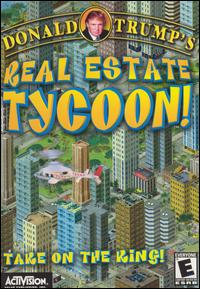Caratula de Donald Trump's Real-Estate Tycoon! para PC