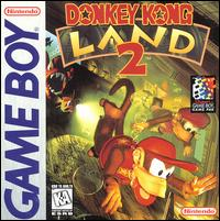 Caratula de Donkey Kong Land 2 para Game Boy