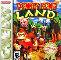 Caratula de Donkey Kong Land para Game Boy
