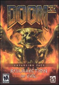 Caratula de Doom 3: Resurrection of Evil para PC
