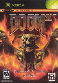 Caratula de Doom 3: Resurrection of Evil para Xbox