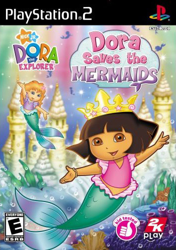 Caratula de Dora the Explorer: Dora Saves the Mermaids para PlayStation 2