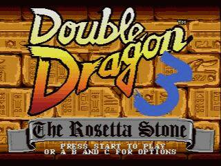 Pantallazo de Double Dragon 3: The Arcade Game para Sega Megadrive