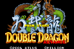 Pantallazo de Double Dragon Advance (Japonés) para Game Boy Advance
