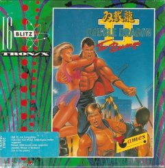 Caratula de Double Dragon II: The Revenge para Atari ST
