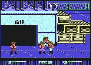 Pantallazo de Double Dragon II: The Revenge para Commodore 64