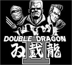 Pantallazo de Double Dragon II para Game Boy
