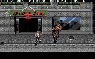 Pantallazo de Double Dragon III: The Rosetta Stone para PC