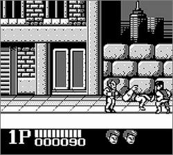 Pantallazo de Double Dragon para Game Boy