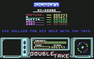 Pantallazo de Double Take para Commodore 64