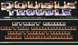 Pantallazo de Double Trouble para Commodore 64