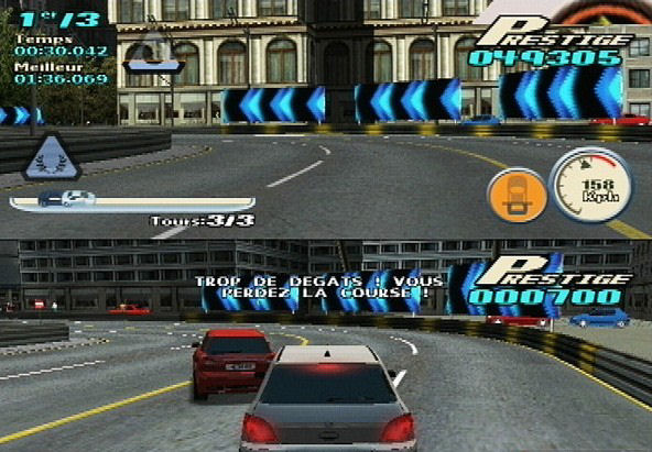 Pantallazo de Downtown Run (AKA City Racer) para PlayStation 2