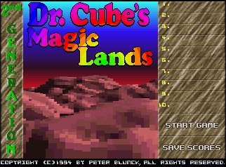 Pantallazo de Dr. Cube's Magic Lands para Amiga