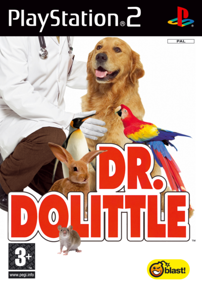 Caratula de Dr. Dolittle para PlayStation 2