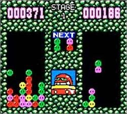 Pantallazo de Dr. Robotnik's Mean Bean Machine para Gamegear