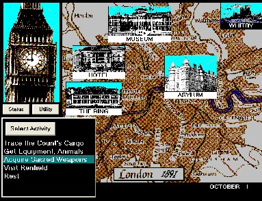 Pantallazo de Dracula in London (Windows) para PC
