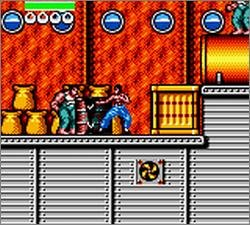Pantallazo de Dragon: The Bruce Lee Story para Gamegear
