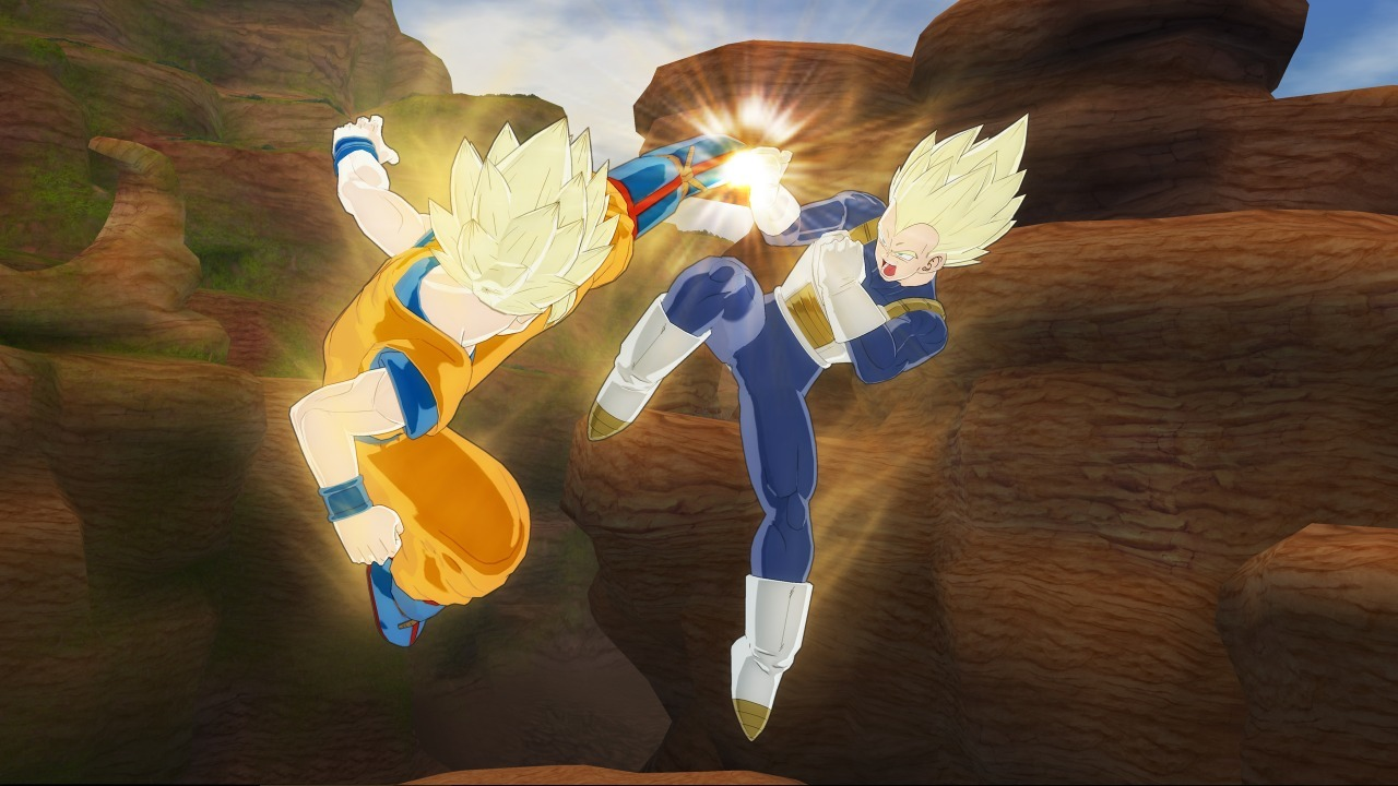 Pantallazo de Dragon Ball Raging Blast para PlayStation 3