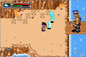 Pantallazo de Dragon Ball Z: Buu's Fury / Dragon Ball GT: Transformation para Game Boy Advance