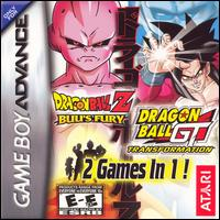 Caratula de Dragon Ball Z: Buu's Fury / Dragon Ball GT: Transformation para Game Boy Advance