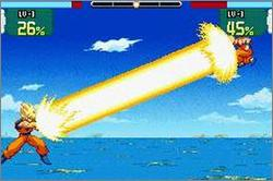Pantallazo de Dragon Ball Z: Supersonic Warriors para Game Boy Advance