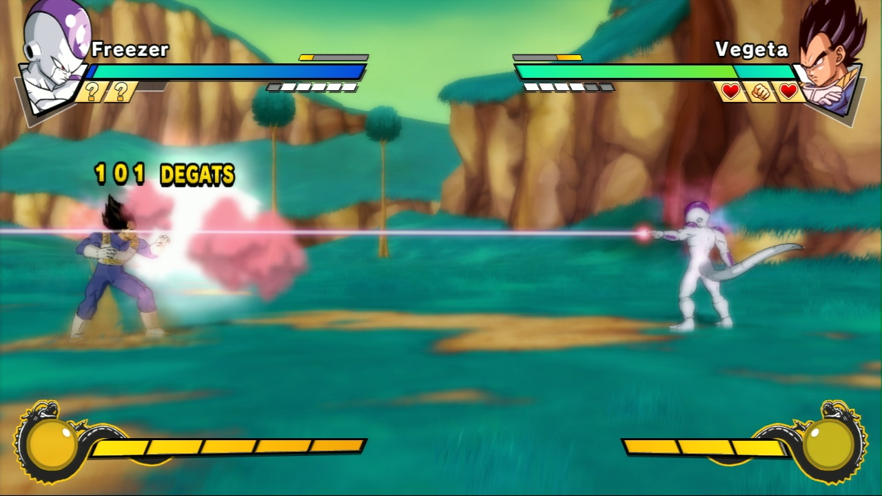 Pantallazo de Dragon Ball Z Burst Limit para PlayStation 3