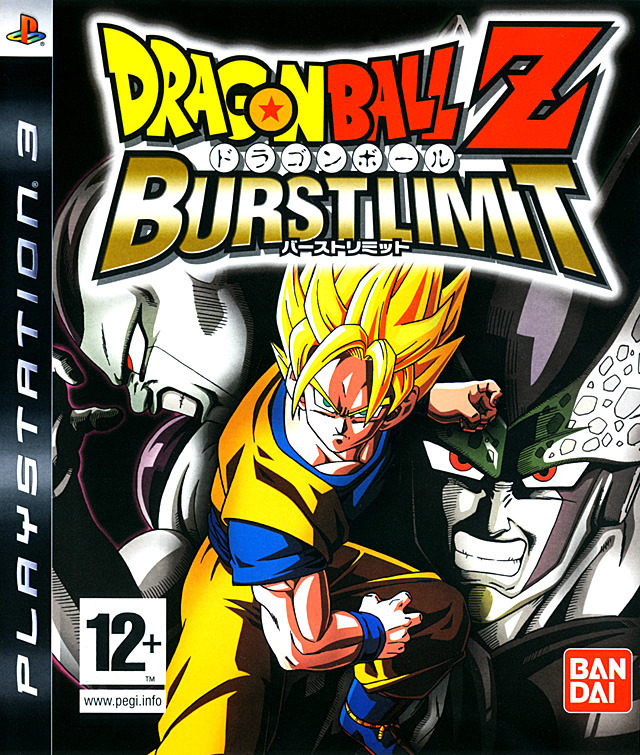 Caratula de Dragon Ball Z Burst Limit para PlayStation 3