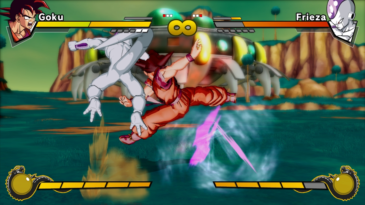 Pantallazo de Dragon Ball Z Burst Limit para Xbox 360