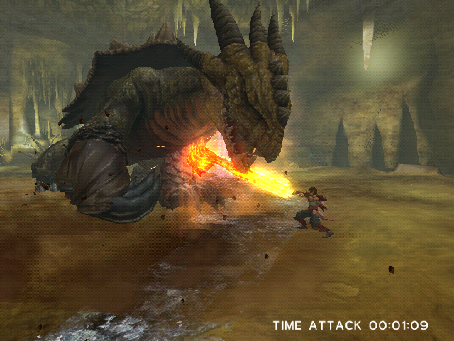 Pantallazo de Dragon Blade: Wrath of Fire para Wii