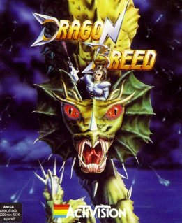 Caratula de Dragon Breed para Amiga