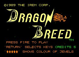 Pantallazo de Dragon Breed para Amstrad CPC