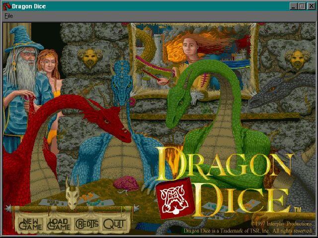 Pantallazo de Dragon Dice para PC